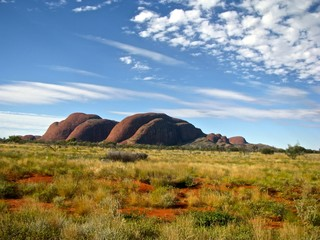 Australia Outback Olgas