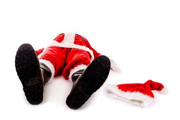 Burn Out Nikolaus: Weihnachten fällt aus