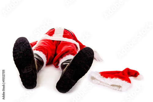 burn out nikolaus weihnachten f llt aus stockfotos und. Black Bedroom Furniture Sets. Home Design Ideas