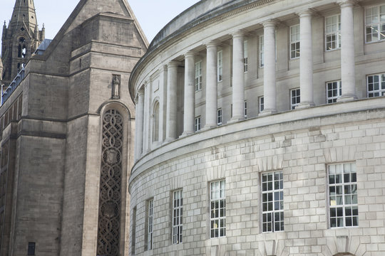 Central Library and Town Hall, Manchester