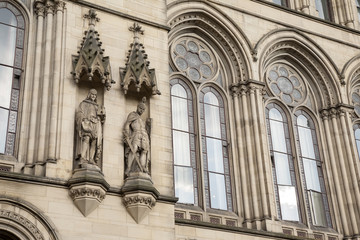 Detail on Town Hall, Manchester