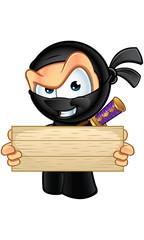 Sneaky Looking Ninja Character