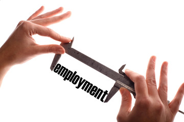 Less employment