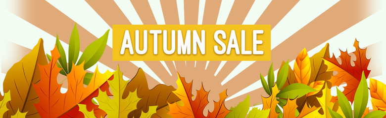 Autumn leaves sale deals leaves offers web banner
