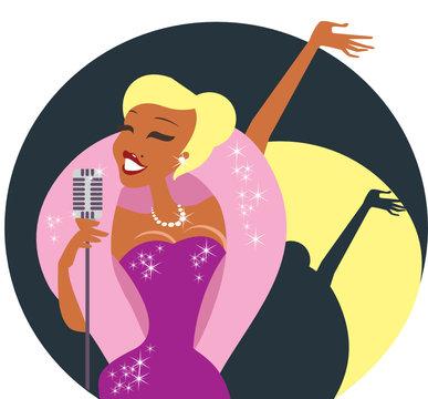 Cabaret singer