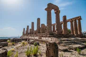 Valley of the Temples in Agrigento - Sicily