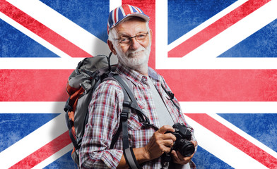 Senior adventurer and photographer