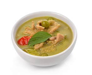 beef or chicken green curry