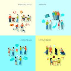 Friendship Icons Set