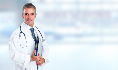 Hospital doctor.