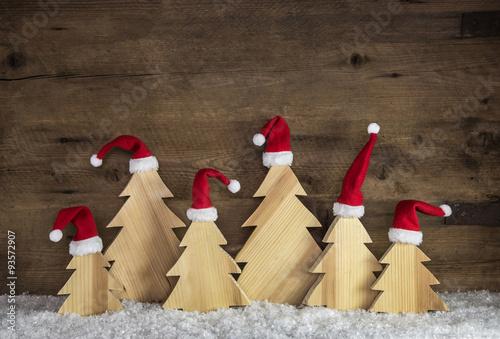 Dekorieren An Weihnachten Mit Naturmaterialien Holz Hintergrund Mit