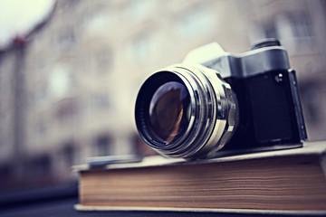 Vintage camera photo story details