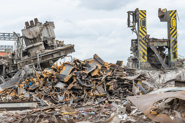 demolished