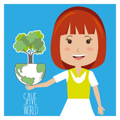 Go green and ecology