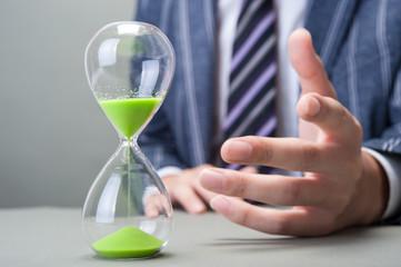 砂時計とビジネス