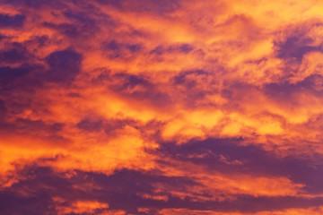 Papiers peints Grenat Sunrise Clouds