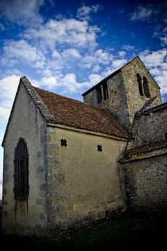 Kirche im Loiretal, Frankreich