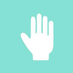 Hand  icon.