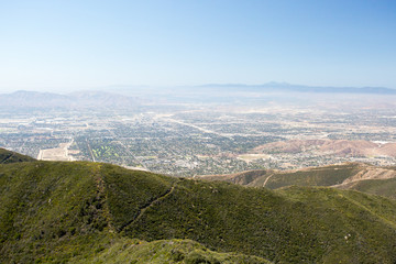 View over San Bernardino