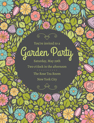Spring Floral Invitation Four