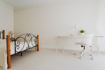 Bedroom in minimalist style