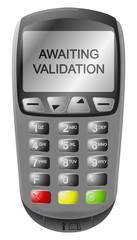 Chip And Pin Machine Awaiting Validation