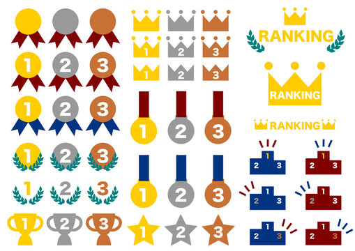 ランキング アイコン セット Ranking icon
