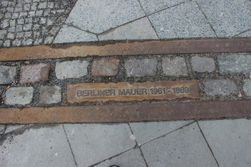 Berlin Wall Marking