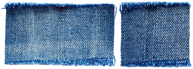 Set of jeans fabric