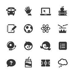 Education Icons, Mono Series