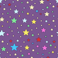 Children stars pattern