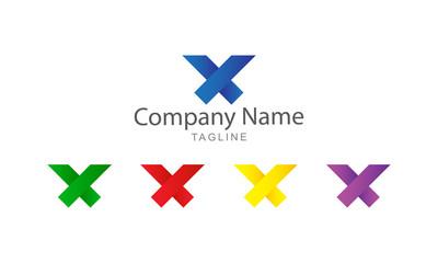 X - logo Vector