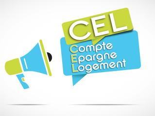 mégaphone : CEL