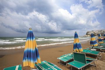 il mare in Puglia, mare mosso