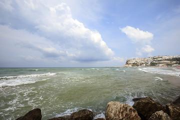 la costa Pugliese:Peschici