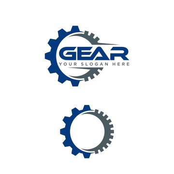 Gear Vector Template