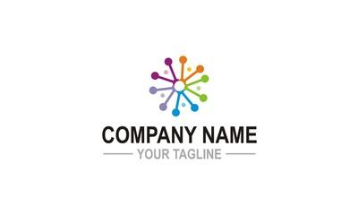 spark technology colored company logo