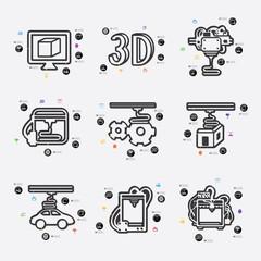 three d printer infographic