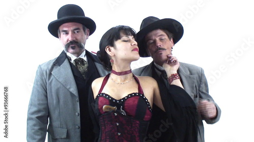 famous characters 3 big nose kate flirts with doc and wyatt