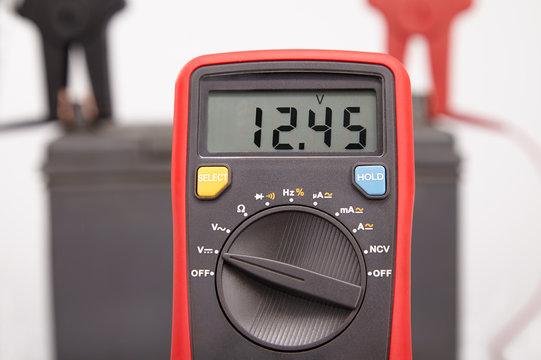 car battery voltage