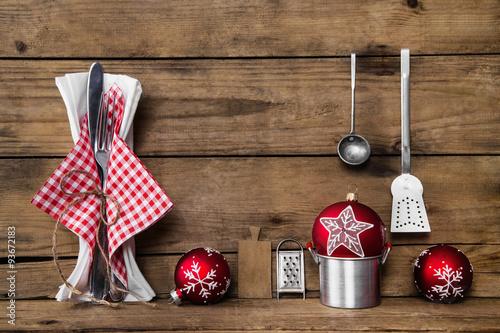romantische weihnachtszeit rustikale tischdekoration mit. Black Bedroom Furniture Sets. Home Design Ideas
