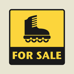 For Sale icon or sign
