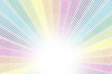 背景素材壁紙,落書,らくがき,いたずら,虹色,レインボーカラー,七色,カラフル,放射状,マジック書き,