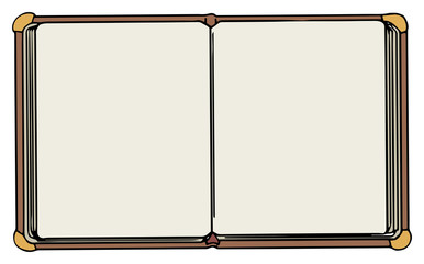 Hand drawn note book