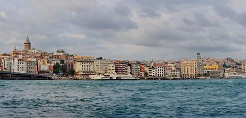Istanbul Panorma galata tower, karakoy bridge