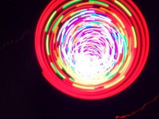 Neon art background