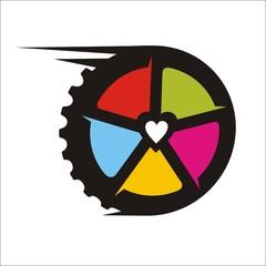 love to ride rainbow