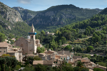 Valldemossa, a mounain village and municipality on the island of Majorca, Spain