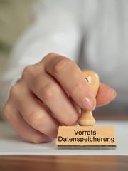 Vorratsdatenspeicherung Stempel