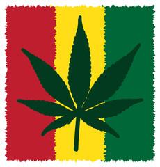 Cannabis Leaf Symbol